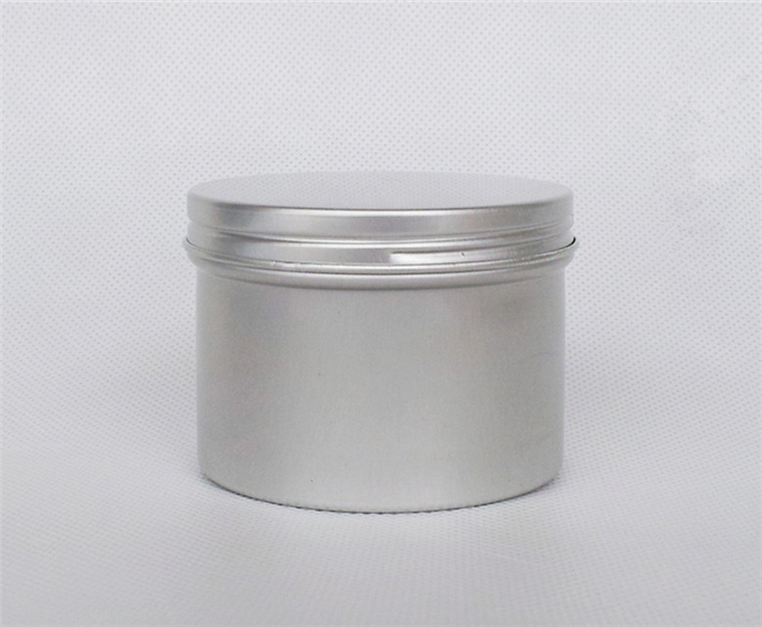 120g ml Empty Aluminum Jar Cosmetic Cream Lotion Metal Packaging Bottles Sundries Containers Free Shipping