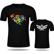 Summer Fashion The Legend of ZELDA T Shirt Print Game Character T-shirt Short Sleeve Modal Cotton Tee Top Unisex Style Shirt
