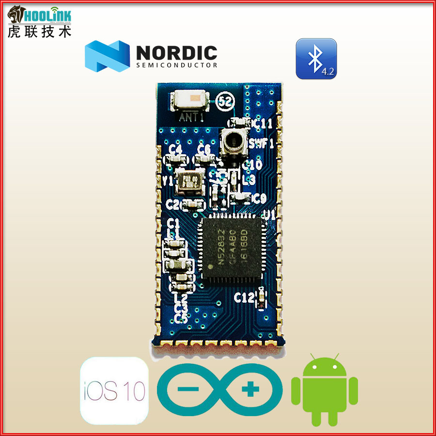 NRF52832 core module QFAA nRF52832 Bluetooth BLE development board nrf52832 core module qfaa nrf52832 bluetooth ble development board