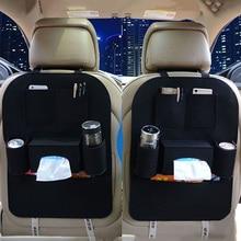 Новый мульти-карман Универсальный заднем сиденье автомобиля сумка для хранения нетканый авто на заднем сиденье Организатор держатель Чехол Аксессуар 40×56 см