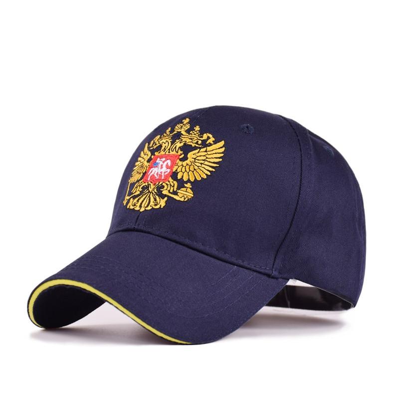 e75fd132e52 2018 New Men Women Russia Baseball Cap Cotton Snapback Hat Casquette Unisex  Casual Embroidery Russian Emblem Hip Hop Cap Gorras-in Baseball Caps from  ...
