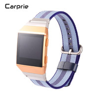 NEW Best Price ! Release Sports Royal Woven Nylon Bracelet Strap Band For Fitbit Ionic oct24