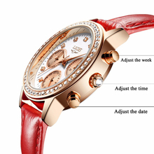 Girl Quartz Watch Casual Leather LIGE9805