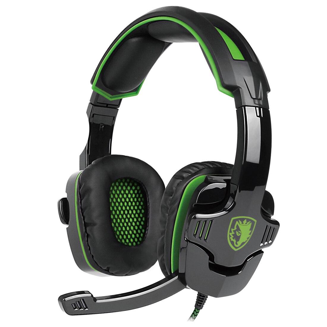 Top Deals SADES SA-930 Stereo Surround Gaming Headset Headband Mic Headphone