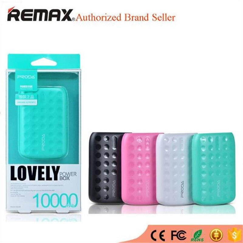 imágenes para Remax universal mini banco de la energía 10000 mah led portátiles móviles cargador de batería externo powerbank externa bateria de reserva