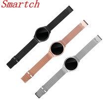 Smartch M7 Bluetooth Смарт часы-браслет Приборы для измерения артериального давления сердечного ритма Мониторы Фитнес трекер Шагомер Браслет для iOS и