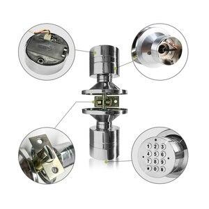 Image 2 - PINEWORLD אלקטרוני מנעול דלת, חכם Bluetooth דיגיטלי APP לוח מקשים קוד Keyless מנעול דלת, סיסמא Keyless מנעול דלת אלקטרוני