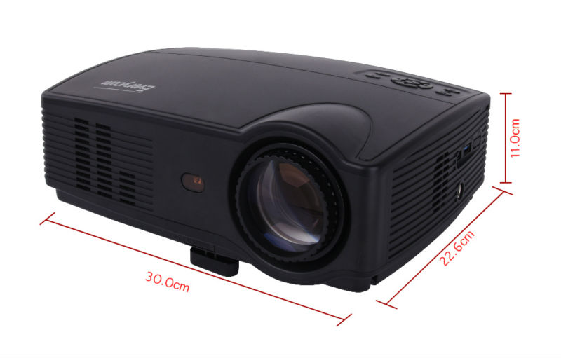 Everycom X9 LED 720P projectors (10)