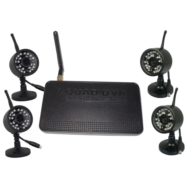 1V4 IR Night Vision Wireless Baby Monitor