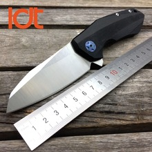 LDT ZT 0456 Tactical Folding Blade Knife G10 Handle D2 Blade Bearing Flipper Hunting Knife Pocket Camping Survival EDC Tools OEM