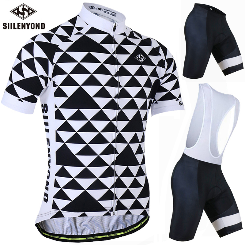 Siilenyond Breathable Pro Cycling Clothing Cycling Sets Mountain Bicycle Clothes Cycling Jersey Set MTB Bike Sportwears leobaiky 2018 pro long sleeve cycling jersey sets breathable 3d padded sportswear mountain bicycle bike apparel cycling clothing