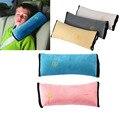 5 colores car styling Accesorios Niño Niños niño protector de Auto cinturón de seguridad del coche Del Cinturón de seguridad Arnés Cubierta Hombrera Suave almohada