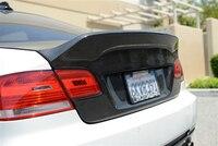 Автомобиль Интимные аксессуары углерода Волокно AM Ericsson Стиль багажнике крышка подходит для 2006 2011 E92 и E92 M3 сзади магистральные bootlid задней дв