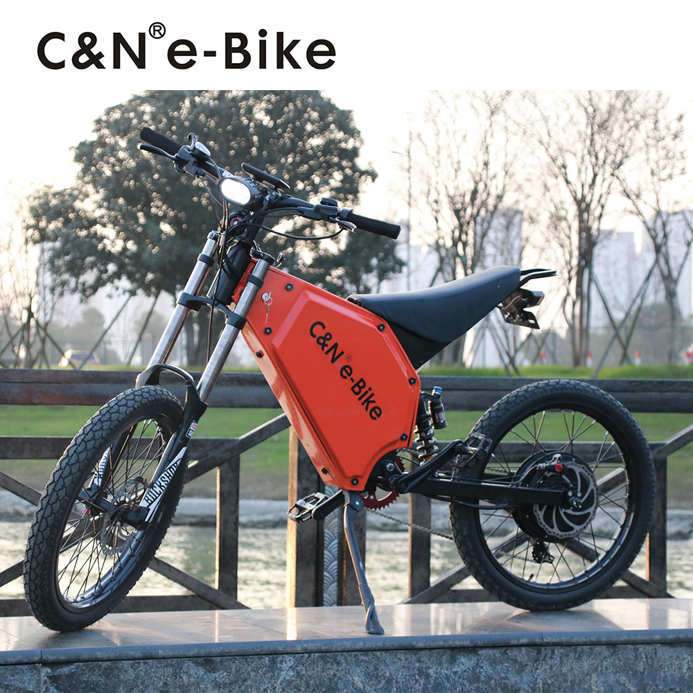 2017 New Design 72v 8000w Electric Bike Electric Motorcycle Mountain Bike 120km h high spped