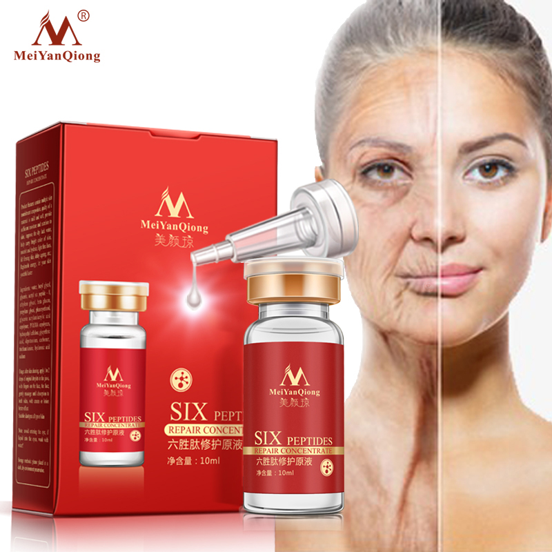 Argireline Six Peptides Repair Concentrate Rejuvenation Emulsion Anti Wrinkle Serum For Face Skin Care Products Anti-aging Cream 1pcs six peptides serum for striae anti wrinkle cream anti aging collagen rejuvenating face lift skin care