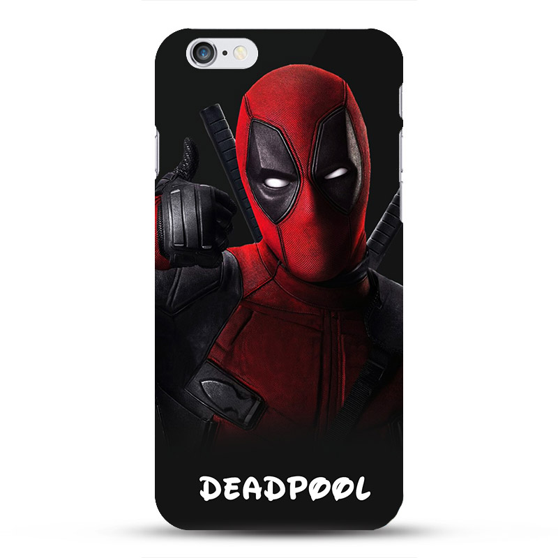 pretty nice 2df76 30fc4 US $2.58 38% OFF|Marvel Avengers Deadpool Spiderman Superhero Phone Cases  for iphone 7 8 6 6s Plus 5S SE coque capinhas Hard Case Batman Ironman-in  ...