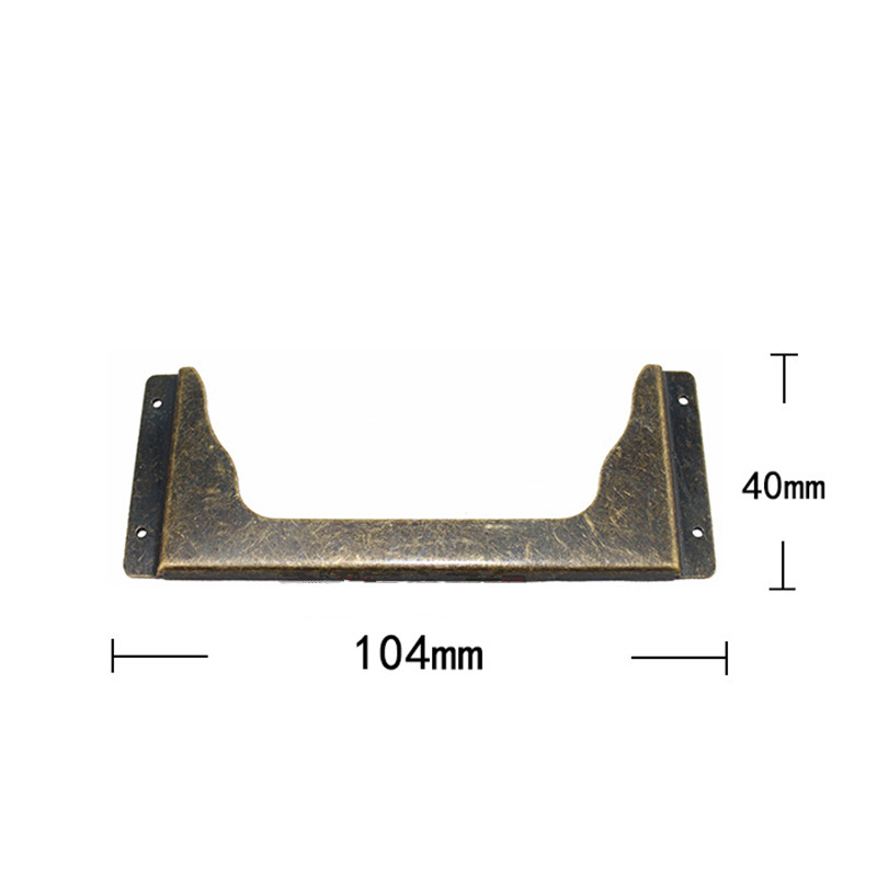 Vintage Bronze Iron Kitchen Drawer Cabinet Door Handle Furniture Knobs Hardware Cupboard Antique Shell Pull Handles,Card Holder kak 8005 5pcs tracery basket bronze tone kitchen cabinet knobs door cupboard handles wardrobe furniture hardware drawer pull