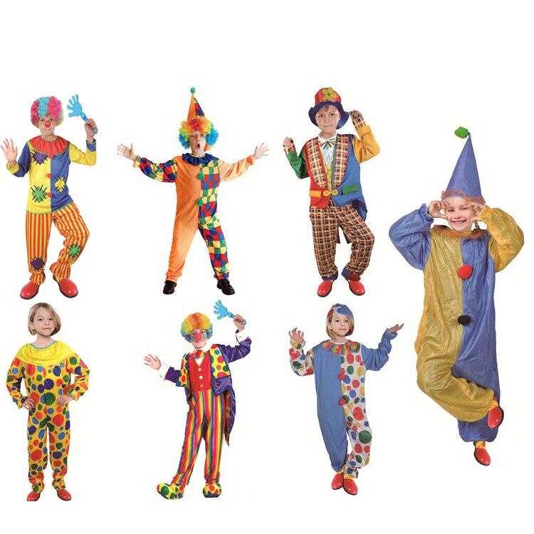 Costume Di Halloween Per I Bambini Pagliaccio Di Carnevale Costume