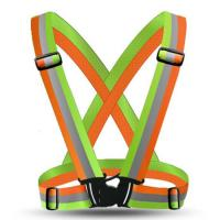 High Reflective Safety Vest Belt High Visibility Security Reflective Elasticated Strips Waistcoat Belt For Bicycle Jog
