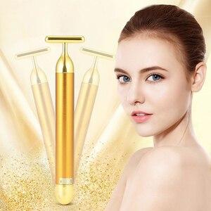 Electric Face Lift Golden Slimming Wrink