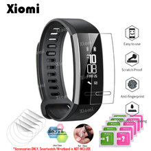цены на For Waterproof OLED Sport Band Huawei TalkBand Talk Band B3 Wristband Smart Watch TPU Film Screen Protector Protective Cover-/  в интернет-магазинах
