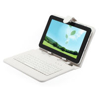 Free Shipping Gift 8GB Boda Tablet PC Android 4.2 9 inch Big Q88 Dual Core A23 960*640 HD w/ White Keyboard