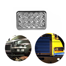 ECAHAYAKU 1x 7Inch 45W Offroad Led Light High Beam Bar Driving Fog Lights LED Work For Jeep Truck Van Camper SUV ATV