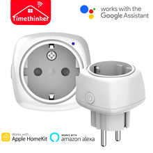 Timethinker Smart WiFi Socket for Apple Homekit Alexa Google Home EU US Plug Siri Voice Control Remote