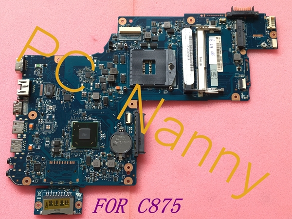 FOR TOSHIBA Satellite C875 Series INTEL Laptop Motherboard H000046310 C875-S7103 HM76 GMA HD4000 Tested