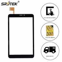 Srjtek 8 For Prestigio MultiPad Wize 3408 4G PMT3408 Touch Screen Digitizer Panel Replacement Touchscreen Glass