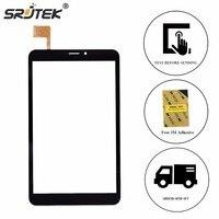 Srjtek 8 For Prestigio MultiPad Wize 3408 4G PMT3408 Touch Screen Digitizer Panel Replacement Touchscreen Glass