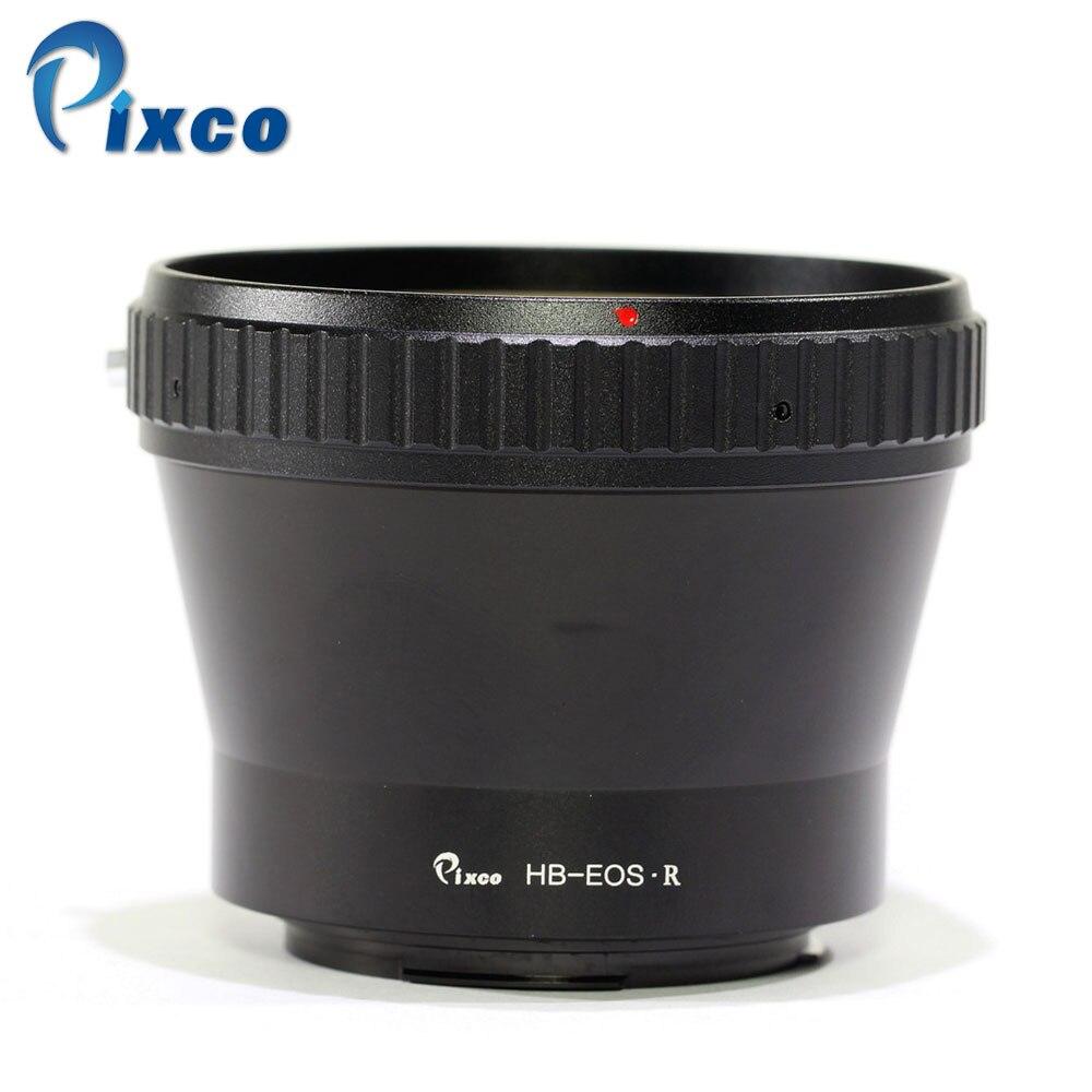Pixco adaptateur de montage d'objectif pour HB-EOS.R anneau d'adaptateur de montage d'objectif pour lentille Hasselblad V vers caméra de montage Canon EOS R - 2