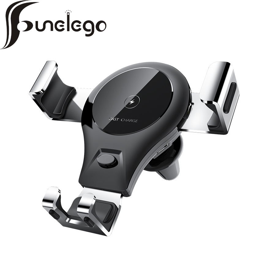 funelego Car Phone Charge Holder Dashboard Mount Stand Car Cellphone Holder Bracket For iPhone Xiaomi Samsung Huawei LG Phones