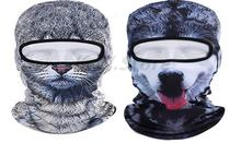 Dog Cat Animal Sports Running Fishing Cycling Motorcycle Full Mask Ski Hood 3D Cap Balaclava UV Breathable Wicking Wind Hat