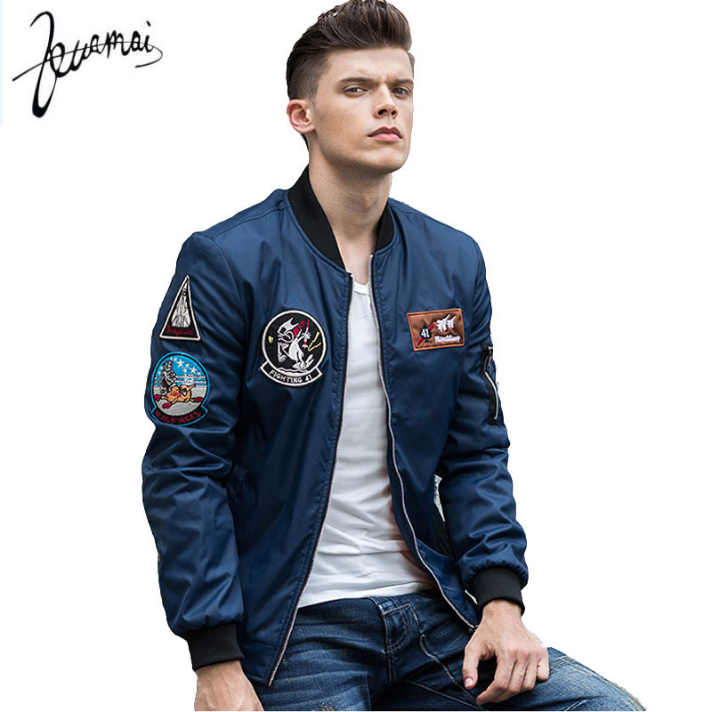 Aliexpress.com : Buy KUAMAI2017High Quality Ma1 Bomber Jacket Men ...
