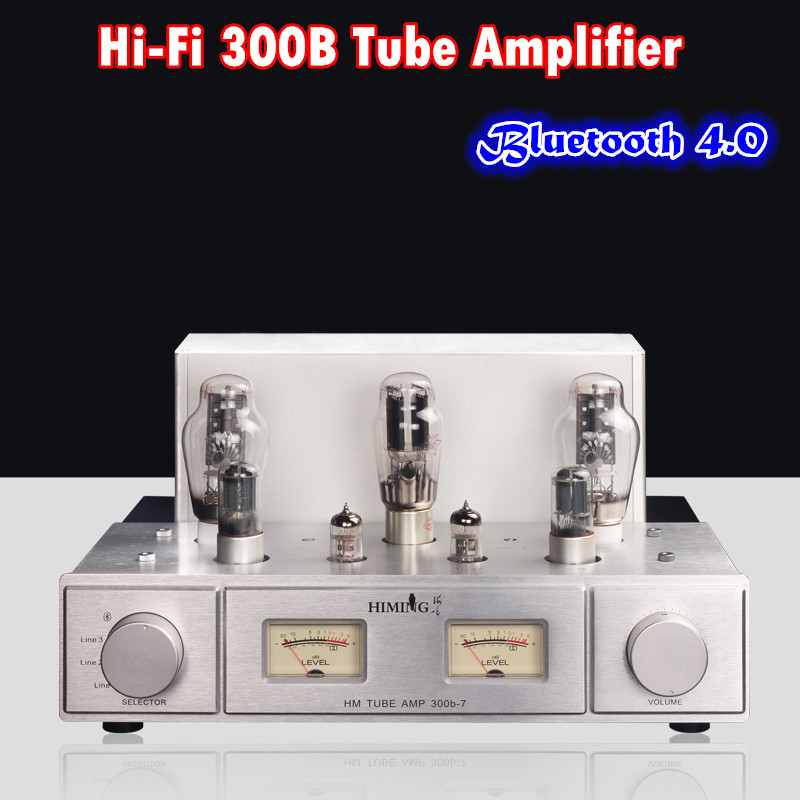 2018 Lastest Nobsound Hi-end Stereo PSVANE 300B Vacuum Valve Tube Amplifier HiFi Push-pull Integrated Power Amp With Bluetooth music hall pure handmade hi fi psvane 300b tube amplifier audio stereo dual channel single ended amp 8w 2 finished product