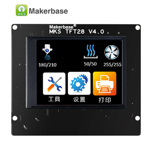Image 5 - 3d מדפסת מגע מסך תצוגת MKS TFT28 תצוגת צבע RepRap בקר פנל תמיכה/WIFI/אפליקציה/הפסקת חיסכון מקומי שפה