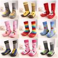 Розничная 1 Pair детские носки с резиновой подошвой Этаж Носки С Животных Дети/Дети Девочка/Мальчик Носки
