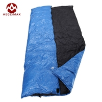 AEGISMAX Ultralight Outdoor Family Envelope Type White Duck Down Camping Hiking Sleeping Bag Spring And Autumn