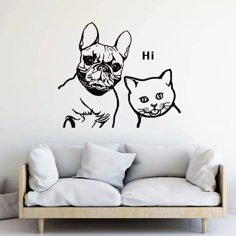aliexpress : buy french bulldog and blue cat house simple