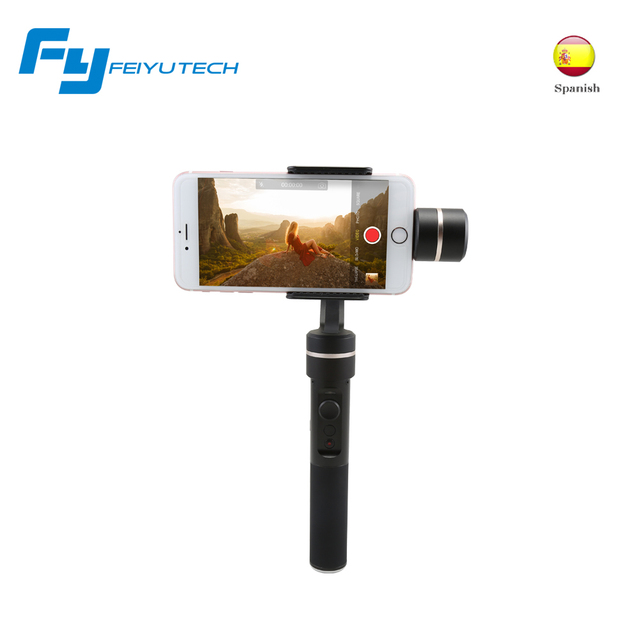 Feiyutech SPG smartphone gimbal 3-axis handheld stabilizer for smartphone and gopro 5 action camera cam stabilizer
