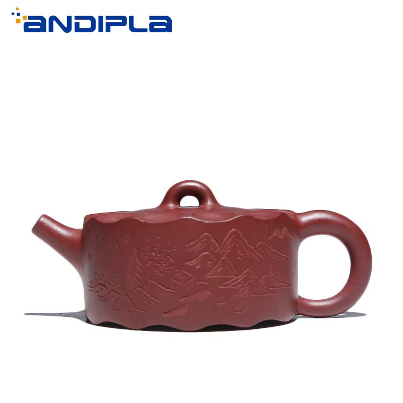 220cc Authentic Yixing Teapot Wave Pot Chinese Health Master Handmade Purple Clay Kung Fu Tea Set Brew Tea Pot Kettle Tea Maker220cc Authentic Yixing Teapot Wave Pot Chinese Health Master Handmade Purple Clay Kung Fu Tea Set Brew Tea Pot Kettle Tea Maker