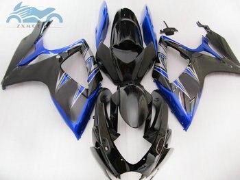 High quality ABS Injection Fairing kits for SUZUKI 06 07 K6 GSXR600 750 motorcycle sports fairings GSXR750 2006 2007 GSX R600