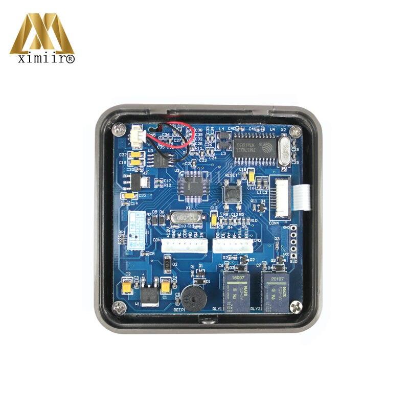 3000 benutzer IC MF Karte Tür Access Controller Standalone Single tür 13,56 MHZ Ic karte Access Control Reader + 10 stücke RFID karte - 3