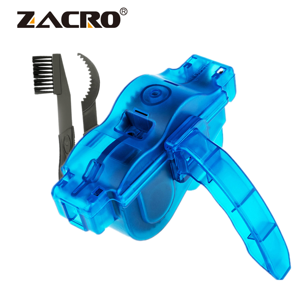 Zacro Chain Cleaner Cleaning Bicycle 3D Chain Brush Wash Tool Set MTB Bike Protection Oil Bike Chain For Mountain Bicycle