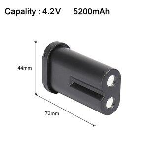 Image 2 - Huepar Nieuwe Originele 3.7V 5200Mah Oplaadbare Lithium Batterij Voor 903CG/GF360G/903CR/GF360R