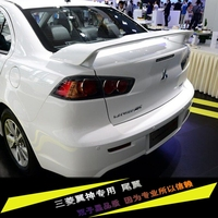 For LANCER EX Spoiler High Quality ABS Material Car Rear Wing Primer Color Rear Spoiler For Mitsubishi LANCER Spoiler 2010 2016