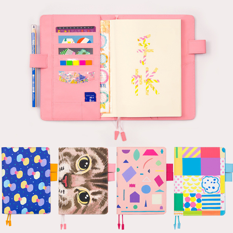 New Arrival A5/A6 Notebook DIY Planner Book School Office