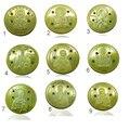 Лот из 23 шт. Православных Святых Беларусь монеты 2-го Поколения 23 дизайн 50 рублей позолоченные Беларусь копию монеты