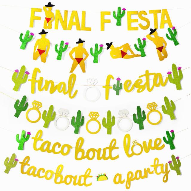 Bachelorette Party Banner Decoration